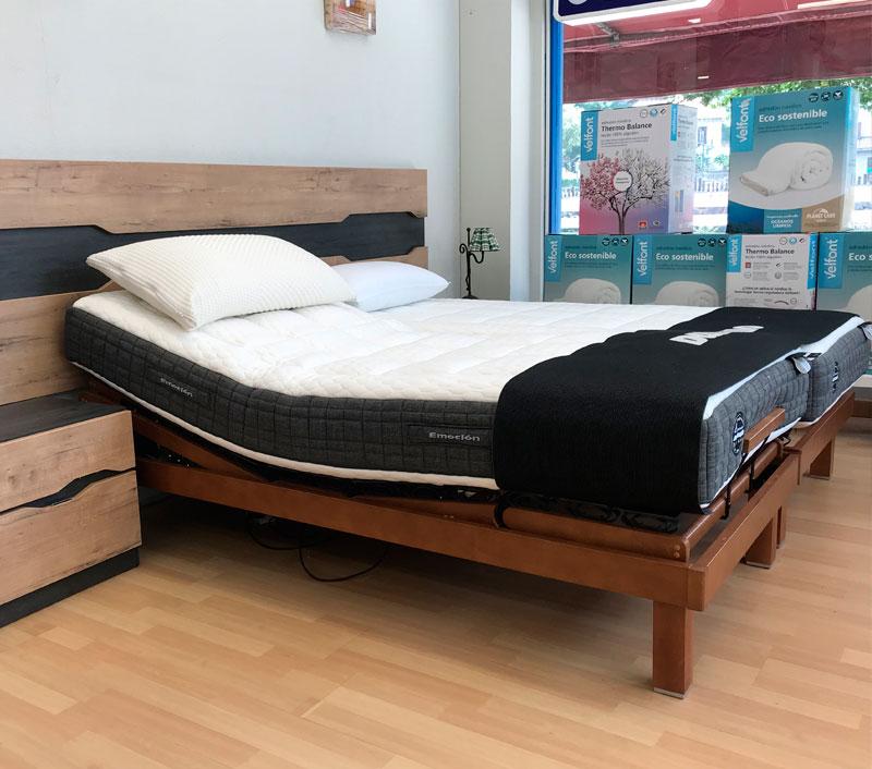 Venta de colchones y camas articuladas en Gipuzkoa