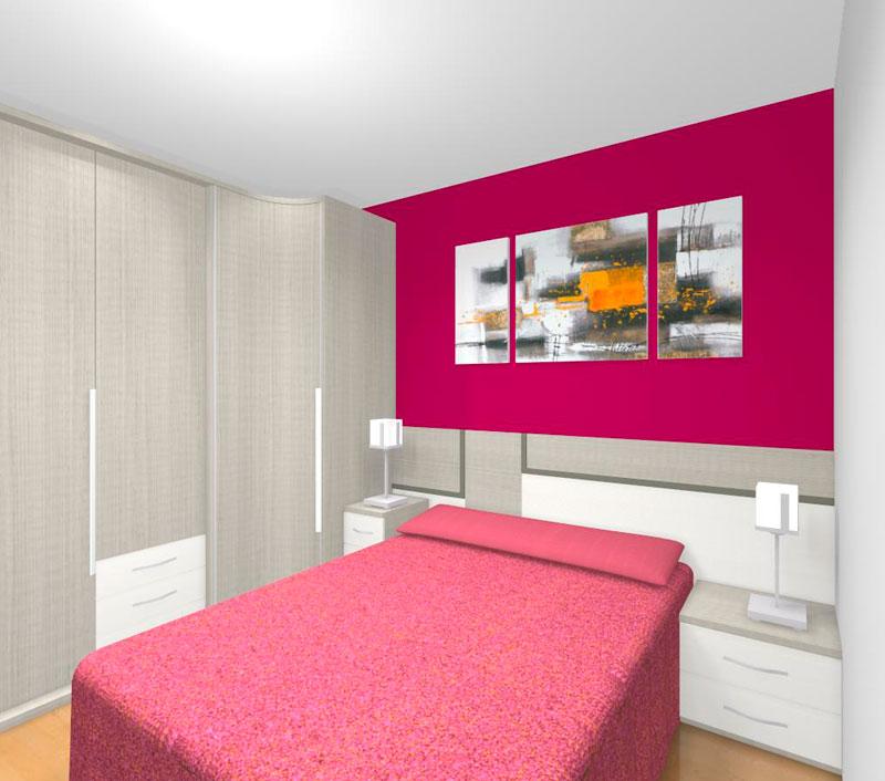 Diseño y decoración de dormitorios en Gipuzkoa