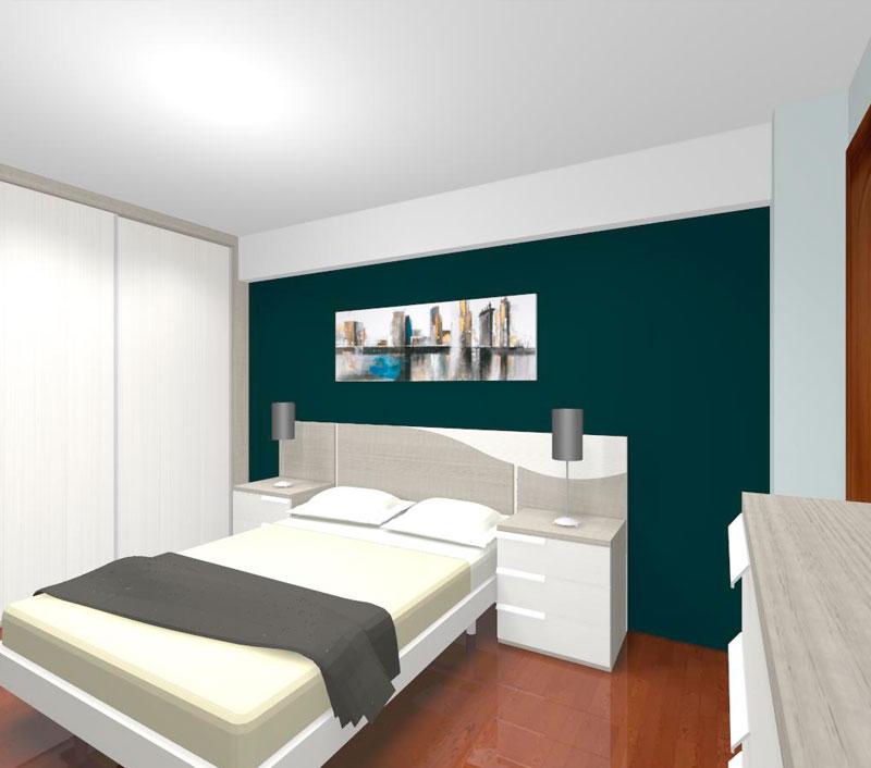 Diseño y decoración de dormitorios por ordenador en Gipuzkoa