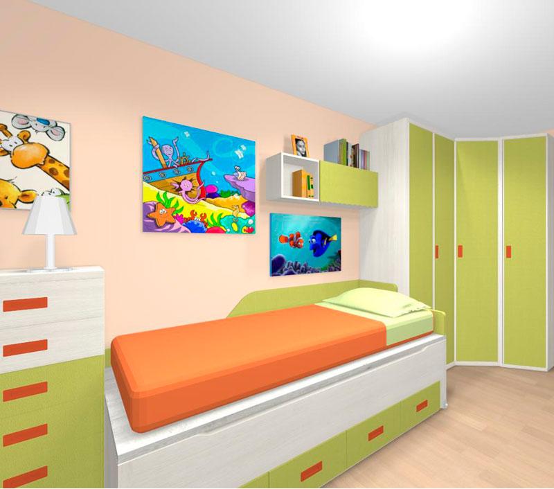 Decoración y muebles para dormitorios juveniles en Gipuzkoa