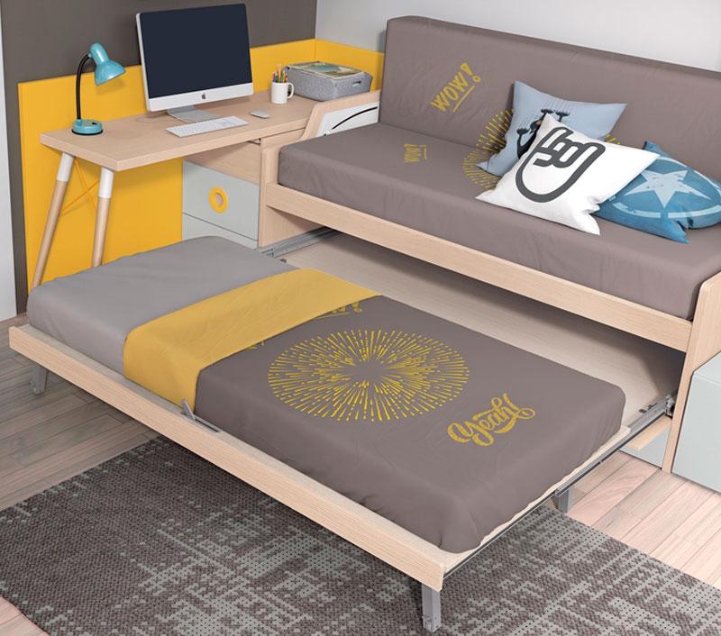 Muebles y decoración para dormitorios juveniles en Gipuzkoa