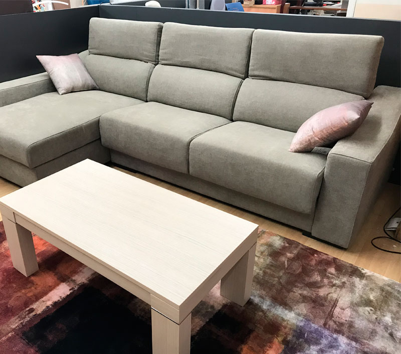 Exposición y venta de sofás en Gipuzkoa