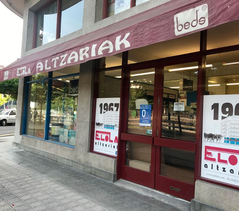 Tienda de muebles y decoración en Tolosa